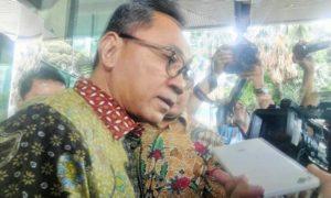 Ketua MPR Zulkifli Hasan saat membesuk Irman Gusman di KPK, Senin (10/10)/Foto Fadilah / Nusantaranews