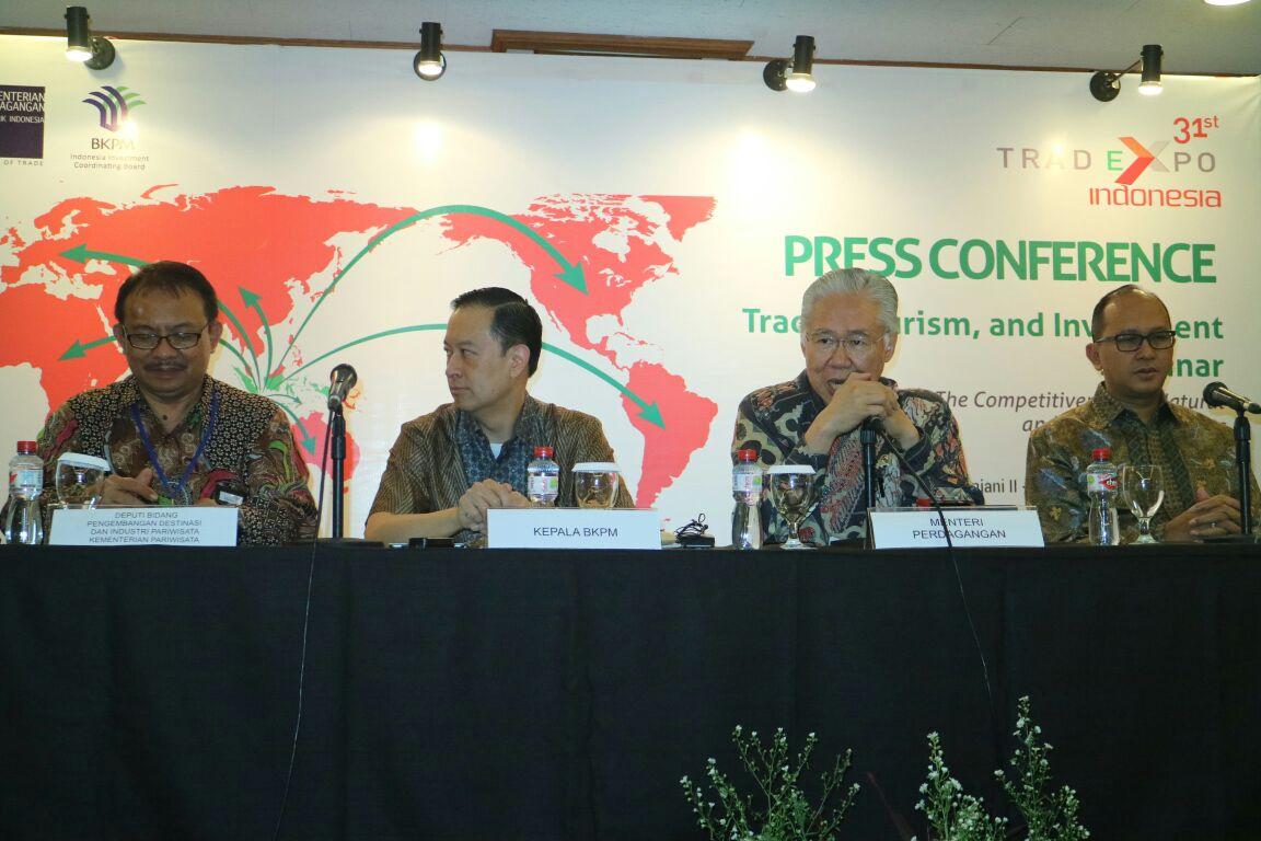 kepala Badan Koordinasi Penanaman Modal (BKPM) Thomas Lembong/Foto Andika/Nusantaranews