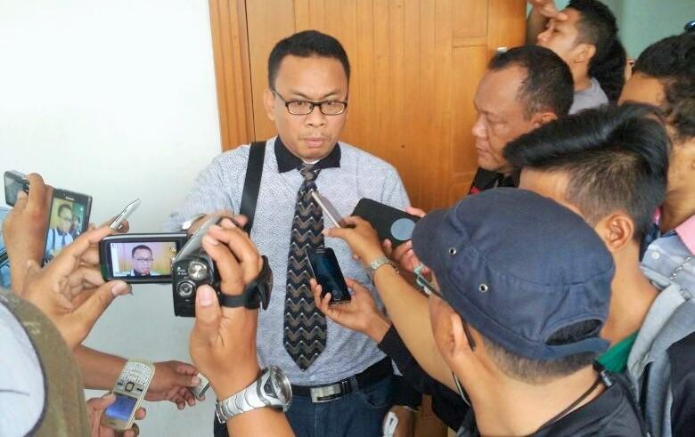 Pengacara terdakwa, Agus Perandi Pasaribu/Foto Anwar