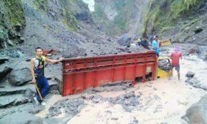 Merapi Banjir Lahar Dingin, 9 Truk Pasir Terbenam/Foto: Dok. Pusat Data Informasi dan Humas BNPB
