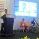 Wiranto di Podium Peluncuran Buku Puisi agenda Indonesia International Book Fair (IIBF) di Jakarta Convention Center, Minggu (2/10)/Foto Sulaiman/nusantaranews