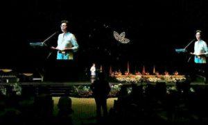 Menkeu, Sri Mulyani Sambutan/Foto Andika/Nusantaranews