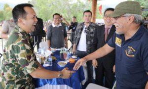 Iwan Fals Titip Kelestarian Fauna dan Flora Sumatra Kepada Gubernur Lampung/Foto Hendra/nusantaranews