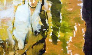 "Lukisan Jaihan, ""Perempuan""/Foto: dok. rupasenirupa"