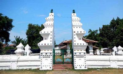 Ziarah situs sejarah Keraton Kanoman Cirebon.