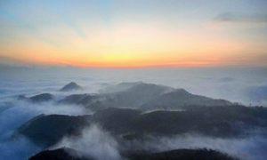 Keindahan Puncak Gunung Budheg/Foto: Dok. @TulungagungKini