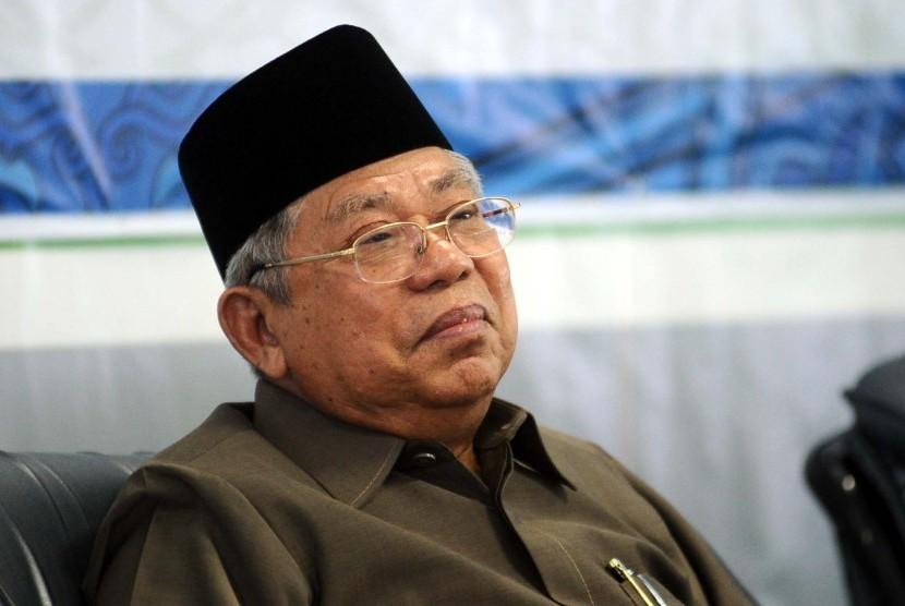 Ketua Umum Majelis Ulama Indonesia (MUI) Ma'ruf Amin. Foto via republika