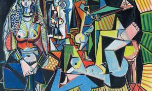 "Lukisan Pablo Picasso ""Les Femmes D'Alger"" atau ""Women of Algiers""/Foto: waow-nesia.blogspot.co.id"