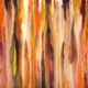 Mengalir bebas I - Heno Airlangga, 89cm x 57cm, 2016