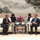 Menpar RI dijamu oleh Walikota Hangzhou yg sekaligus menjabat Deputy Party Secretary, di Hotel Intercontinental Hangzhou, RRT (12/10)/Foto: dok. Kemenpar