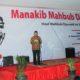 Menteri Agama Lukman Hakim Saifuddin sambutan di acara Manakib Mahbub Djunaidi/Foto: Dok. nu.or.id
