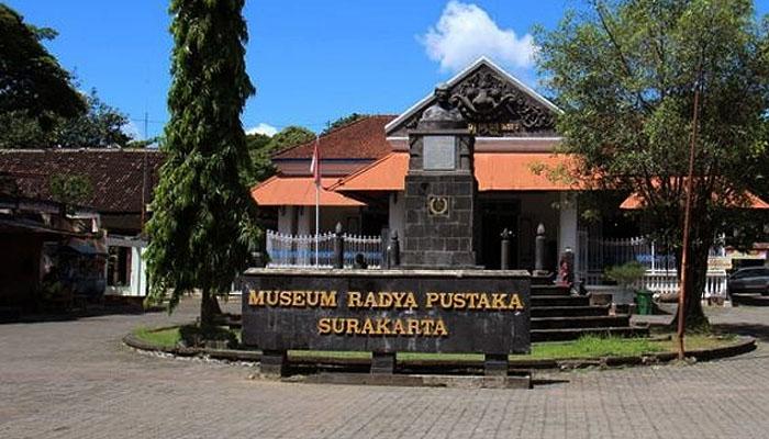Ziarah situs sejarah Museum Radya Pustaka.