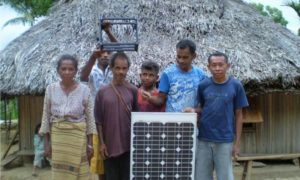 PLTS Off-Grid Terangi Kampung Kocu As, Papua Barat/Foto: housing-estate.com