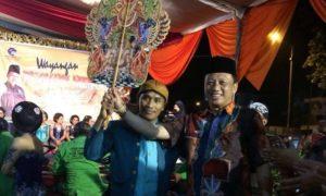 Pagelaran Wayang di Alun-alun Jember /Foto: Dok. Sarbumusi NU