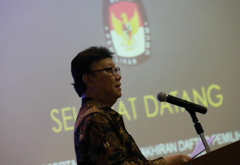 sambutan-menteri-dalam-negeri-tjahjo-kumolo-saat-bahas-ruu-pemilu-2019/foto: kemendagri