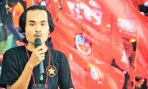 Sekjend LMND, Arif hidayatullah/Foto Nusantaranews