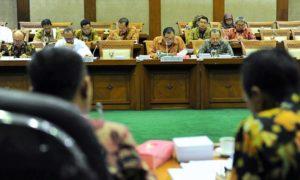 Menteri Koperasi dan UKM rapat dengan DPR RI di ruang rapat Komisi VI DPR, Senayan, Jakarta, Rabu (19/10)/Foto: Dok. Humas Kemenkop dan UKM