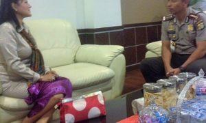 Kunjungan Anggota Komisi VI DPR, Endang Srikarti Handayani, ke Polres Jaktim/Foto Muhtarudin/Nusantaranews