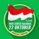 Poster Kirab Hari Santri Nasional 22 Oktober/Istimewa