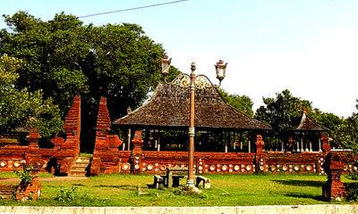 Ziarah situs sejarah Keraton Kasepuhan Ceribon.