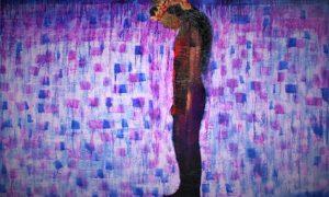 "Lukisan Nasirun, ""Mengheningkan Cipta"", 280x200cm, 2009/Foto: sangkringartspace.net"