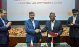 Pembukaan resmi SKB Bidang Kerja Sama Ekonomi dan Perdagangan antara Republik Indonesia – Republik Islam Iran, di Jakarta, Jumat (25/11)/Foto: dok. ekon.go.id