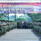 Presiden Joko Widodo diantara 3.500 prajurit Kostrad di markas Divisi Infanteri 1 Kostrad, Cilodong, Kota Depok, Jawa Barat, Rabu (16/11/2016) pagi/Foto: dok. Humas Kemensetneg