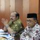 Anggota Ombudsman, Ahmad Su'aedy dan Ketua Ombudsman Amzulian Rifai di gedung Ombudsman RI, Kuningan, Jakarta, Selasa, 22 November 2016/Foto Andika