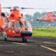 Dua unit helikopter AS 365N3+ Dauphin diserahkan Ke BASARNAS di Hanggar Rotary Wing PT DI, Selasa (15/11)/Foto: dok. indomiliter