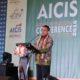 Menag Lukman Hakim Saifuddin menyampaikan sambutan sekaligus membuka resmi AICIS 2016 di Lampung/Foto: dok kemenag/dodo
