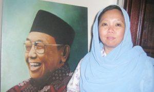 Alissa Wahid Putri Mantan Presiden Abdurrahman Wahid (Gus Dur). Foto via Thejakartapost