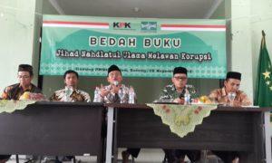 Bedah buku Jihad NU Melawan Korupsi di PWNU Banten. Foto Dok. Ruhadi Ahmad