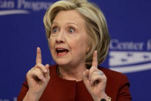 Calon Presiden Partai Demokrat Hillary Clinton. Foto via Thelibertarianrepublic
