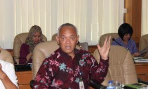 Direktur Jenderal Tanaman Pangan Kementerian Pertanian (Kementan), Hasil Sembiring,. Foto Andika/Nusantaranews
