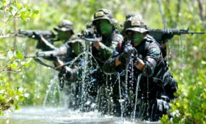 Foto Ilustrasi Sistem Pertahanan Negara. IST
