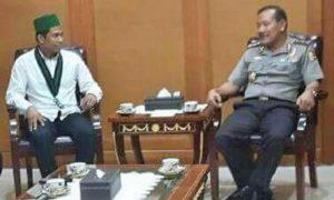 Ketua Umum PB HMI MPO Muhammad Fauzi dengan Mantan Kapolri/Foto: Istimewa