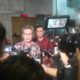 Juru Bicara Presiden RI Johan Budi menyambangi Gedung Komisi Pemberantasan Korupsi (KPK), Jumat (11/11)/Foto Fadilah / Nusantaranews