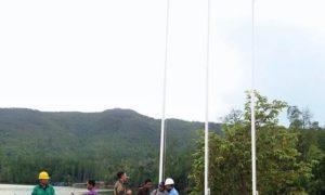 Kronologi Penurunan Bendera RRC di Ternate/Foto: Isitmewa