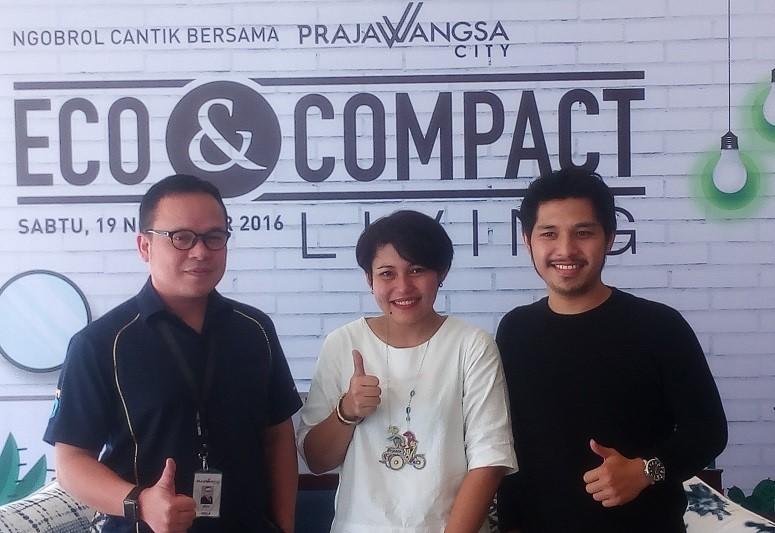 "Ngobrol Cantik bertajuk ""Eco & Compact Living"" di Jakarta, Sabtu (19/11/2016)/Foto Andika / NUSANTARAnews"
