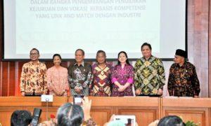 Lima Kementerian Bersinergi Kembangkan Pendidikan Vokasi/Foto: Dok. Humas Kemenperin