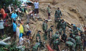 Ilustrasi Bencana Longsor. Foto via wartakota