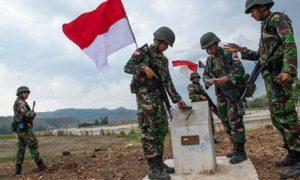Ilustrasi TNI AD Di Wilayah Perbatasan. Foto IST