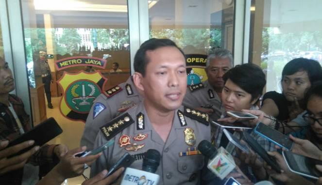 Kabid Humas Polda Metro Jaya Kombes Pol Awi Setiyono. Foto via Lensa