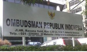 Kantor ombudsman Republik Indonesia. Foto IST