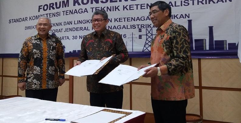 Kementerian Energi Sumber Daya Mineral (KESDM) dan Kementerian Ketenagakerjaan menjalin kerjasama. Foto Fadhilah/Nusantaranews