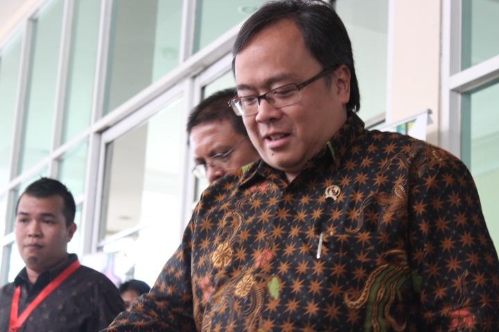 Kepala Badan Perencanaan Pembangunan Nasional (Bappenas), Bambang Brodjonegoro,. Foto Andika/Nusantaranews