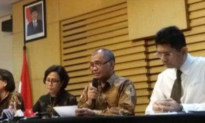 Ketua Komisi Pemberantasan Korupsi (KPK), Agus Rahardjo dalam konferensi pers. Foto Fadhilah/Nusantaranews