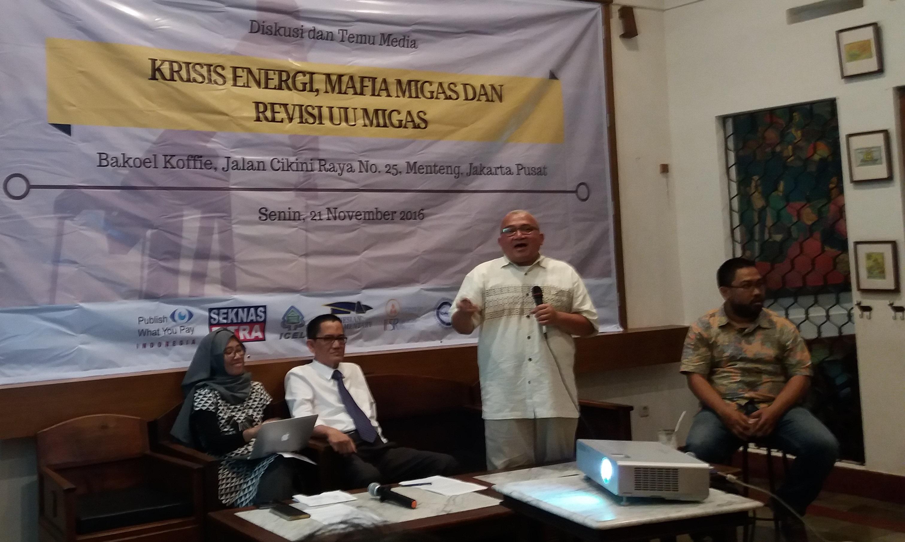 Koordinator Publish What Your Pay (PWYP) Maryati Abdullah. Foto Fadhilah/Nusantaranews