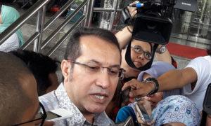 Kuasa Hukum Praperadilan Irman Gusman yakni Tommy Singh. Foto via poskotanews
