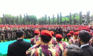 Kunjungan Presiden Jokowi Ke Markas Besar Kopassus. Foto via liputan6